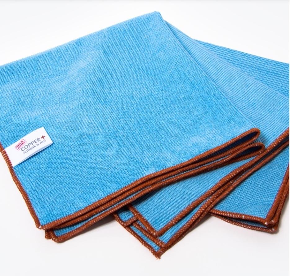 COPPER+ Microfasertuch blau
