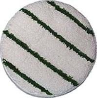 Queen-Bonnet-Pad mit grünen Streifen 406mm (16