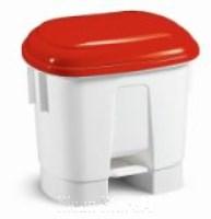 Derby 30 Liter mit Deckel rot