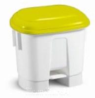 Derby 30 Liter mit Deckel gelb