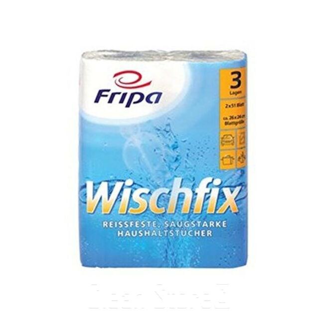 Küchenrolle WISCHFIX 3-lagig 16x2 Ro. à 51 Blatt