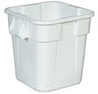 Brute Container, eckig, 106 l, weiss