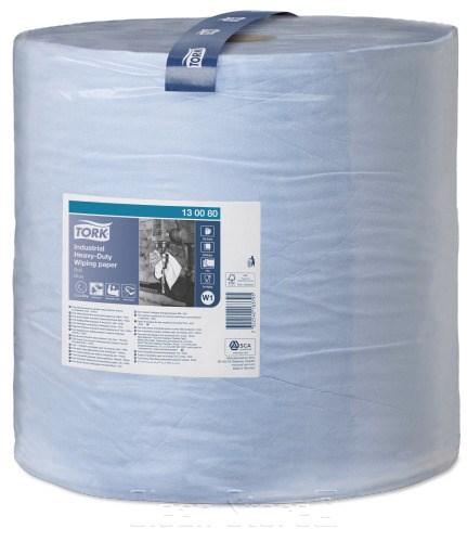 Tork Extra Starke Industrie Papierwischtücher blau 750 Tücher Premium (W1)