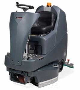 Aufsitz-Scheuersaugmaschine TTV678G/400T mit 3x PadLoc-Treibteller 305mm