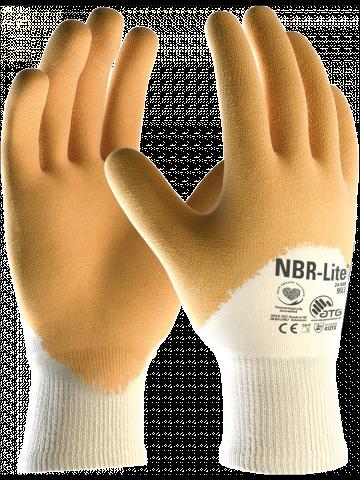 NBR-Lite® - Nitril-Handschuhe - Strickbund - Preis pro Paar,Gr.7 - 10