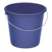 Haushaltseimer 5 l rund, blau