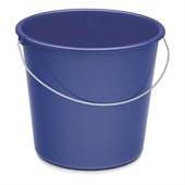 Haushaltseimer 10 l rund, blau