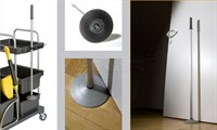 Türstopper mit Stielhalter und Gummifuß