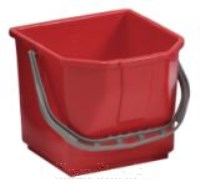 Eimer 15 Liter rot